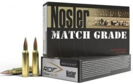 Nosler 60158 Match Grade RDF 300 Winchester Magnum 210 GR Hollow Point Boat Tail - 20rd Box