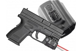 Viridian C5LRPACKC3 C5LR w/Tacloc Holster for Springfield XD/XDM Red Lsr 100 Lm