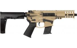 "CMMG 57A18CD-FDE Banshee Pistol 5"" 20rd FDE M-Lok Brace"