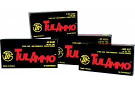 Tulammo TA918092 Centerfire Handgun 9x18 Makarov 92 GR FMJ - 50rd Box
