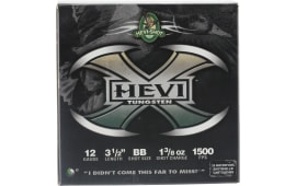 "Hevishot 50358 Hevi-X Waterfowl 12 GA 3.5"" 1-3/8oz BB Shot - 25sh Box"