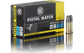 Walther Arms 2132443 22 Long Rifle 40 GR Lead Round Nose - 50rd Box