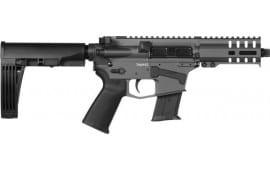 "CMMG 57A18CD-SG Banshee Pistol 5"" 20rd Sniper Grey M-Lok Brace"