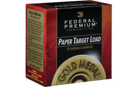 "Federal GMT1188 Gold Medal Paper 12GA 2.75"" 1-1/8oz #8 Shot - 25sh Box"