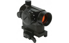 "Konus 7216 Sight Pro Atomic QR 1x 20mm Obj 3.5 MOA Illuminated Red Dot Black Matte w/1"" Riser & QD Mount"