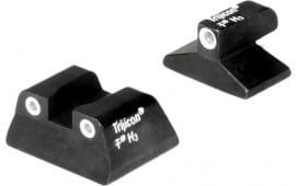 Trijicon 600670 Bright & Tough Night Sights H&K USP Tritium Green w/White Outline Black