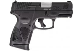 "Taurus G3C Semi-Automatic Pistol 9mm (3) 12rd Mags 3.26"" Barrel Black Finish - 1-G3C931"
