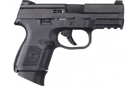 "FN FNS-9C Compact DA 3.6"" 17+1 w/ Night Sights - Law Enforcement Trade In, 3 Mags - Polymer Frame - Very Good to Excellent Condition"
