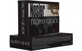Nosler 60086 Trophy 338WinMag 250 GR AccuBond Brass - 20rd Box