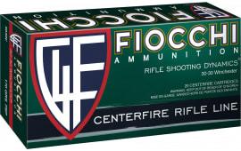 Fiocchi 3030C Shooting Dynamics 30-30 Winchester 170 GR FSP - 20rd Box