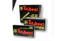 Tulammo TA223556 Centerfire Rifle .223/5.56 NATO 55 GR Full Metal Jacket - 20rd Box