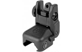 Ruger 90415 Rapid Deploy Rear Sight Rifle Polymer Black