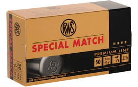 RWS 2134233 22LR Special Lead Round Nose 40 GR 50 Rounds Per Box - 50rd Box