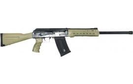 """Kalashnikov USA KS12FDE KS12 12GA. 18.25"""" 3"""" 1-5rd Magazine BLACK/FDE"""