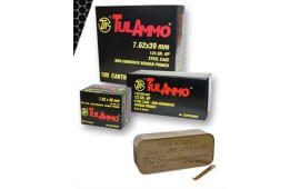 Tulammo UL076215 Centerfire Rifle 7.62x39mm 122 GR Full Metal Jacket - 40rd Box