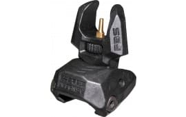 Mako FBS Flip Up Front Sight AR-15/M4/M16 Picatinny Rail Black