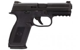 """FN 66915 FNS-40 NMS NS LE .40 S&W 4"""" 14+1, 3 Mags, Polymer Grip Black"""