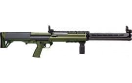 "Kel-Tec KSG25GRN KSG-25 Shotgun 12GA. 3"" 25-SHOT 30.5"" Cylinder ODG Shotgun"