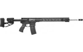 """Stag Arms STAG580034 15 Helical 22"""" SS 25rd M-LOK Black"""