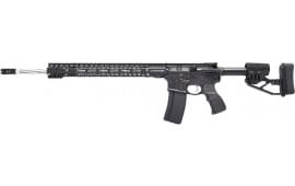 """Stag Arms STAG580034L 15L Helical 22"""" SS 25rd M-LOK Black Left Hand"""