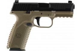 FN 66100359 509 NMS 17R FDE/BLK LE