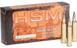 HSM 65CREEDMOOR2N 6.5 Creedmoor 140 LOW Recoil - 20rd Box