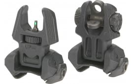 Mako FRBSM2D Flip Up Front/Rear Sights with Tritium 2 Rear Dots AR-15/M4/M16