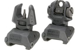 Mako FRBSM4D Flip Up Front and Rear Sights with Tritium 4 Rear Dots AR-15/M4/M16