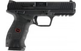 "Sar USA SAR9 Semi-Auto Pistol 4.4"" Barrel 9mm 17+1 Black Interchangeable Backstrap Grip Black - SAR9BL"