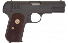 "Colt by US Armament 1903P 1903 Hammerless Single 3.75"" 8+1 Walnut Grip Gray Parkerized"