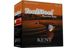 """Kent KTS123366 3"""" 11/4 Teal STL - 250sh Case"""