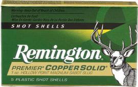 Remington 20734 PR12CS 12 2.75 Copper Slug - 5sh Box