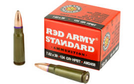 Century Arms AM2458 RA 762X39 124HP - 20rd Box