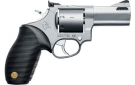 "Taurus 2692039 692 Standard DA/SA 3"" 7rd Black Ribber Grip Stainless Steel Revolver"