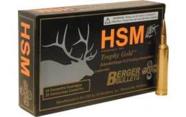 HSM 65CRD130VLD 6.5 Creedmoor 130 VLD Gold - 20rd Box