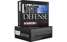 Nosler 39123 Performance Bonded 40 Smith & Wesson 200 GR Jacketed Hollow Point - 20rd Box