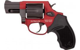Taurus 2856021ULC13 856 Ultlt 38SP 2IN Black Rain OrdnanceRG/BLK Revolver