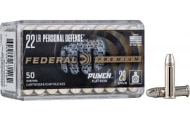 Federal PD22L1 22LR 29FN Pers DEF - 50rd Box
