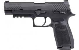 "Sig Sauer 320F9M17MSBRAVO P320 M17 4.7"" Siglite Black17rdManual Safety"