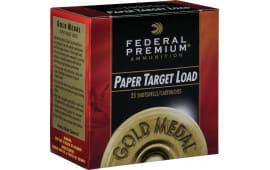 "Federal GMT1758 Gold Medal Paper 12GA 2.75"" 1oz #8 Shot - 25rd Box"