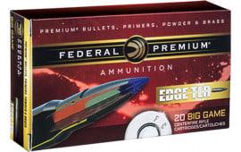 Federal P270WSMETLR1 Edge TLR 270 Winchester Short Magnum (WSM) 140 GR Terminal Long Range (TLR) - 20rd Box