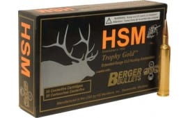 HSM 65CREEDMOOR1 Trophy Gold 6.5 Creedmoor 140 GR Hunting Very Low Drag - 20rd Box