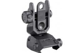 Defiance DARSBL00 AR15 Rear Flip UP Sight Steel