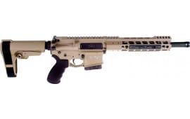 """Alexander Firearms R50PISTOL Pistol 12"""" TB 7rd Geisselle FDE Brace"""