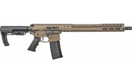 Black Rain OrdnanceBRO-20102901 FDE Billet Rifle 556 16""