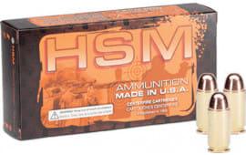 HSM 402rd 40 S&W 180 FMJ - 50rd Box