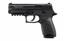 "Sig Sauer 250C22BAS P250 Rimfire Double Rifle 3.9"" 10+1 Black Polymer Grip Black Hard Coat Anodized"