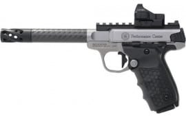 "Smith & Wesson 12081 SW22 Victory PF Center .22LR 6"" Carbon Fiber w/REDDOT"