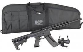 Smith & Wesson 12546 M&P15-22 Optics Ready 25-SH 6-POS w/RED/GRN DOT Optc