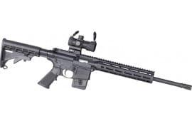 Smith & Wesson 12547 M&P15-22 Optics Ready 10-SH 6-POS w/RED/GRN DOT Optc
